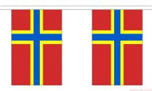 ORKNEY ISLANDS BUNTING - 9 METRES 30 FLAGS